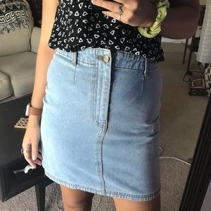 VTG Denim Skirt